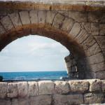 1 Caesarea aqueduct Ann Goldberg