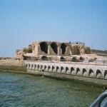 Acre - ancient ramparts Ann Goldberg