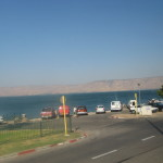 Tiberias - LAke Kinneret with the Golan Heights in the distance Ann Goldberg
