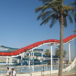 Tiberias water park Ann Goldberg