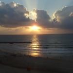 sunset over the mediterranean  Ann Goldberg