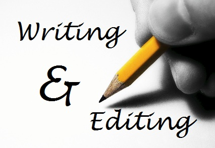 editing and writing