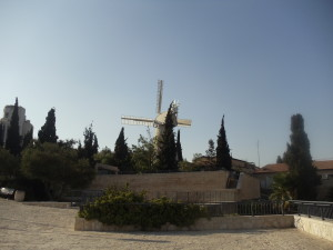 The Montefiore Windmill in Mishkenot Shaananim