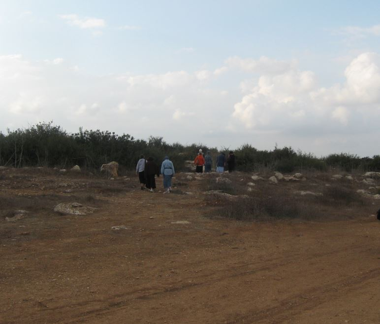 The Hills of LAchish before building began on Bnei Dekalim